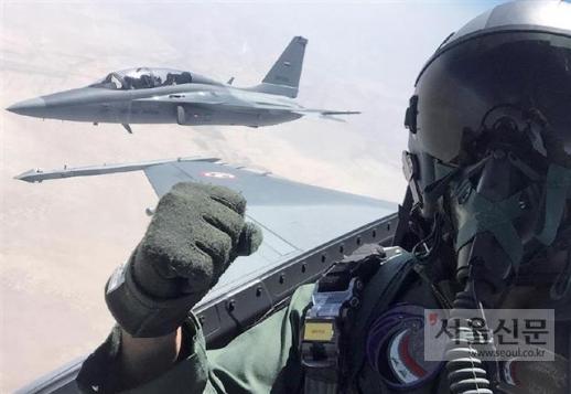 한국형 전투기(KFX) 개발사업의 밑거름이 된 경공격기 FA50의 이라크 수출버전 FA50IQ가 이라크 상공을 날고 있다. 30년이라는 세계적으로 유례가 없는 짧은 기간에 우리는 초음속 전투기 수출국 반열에 올랐다.이라크 공군 제공
