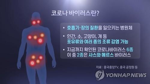 코로나바이러스란? (CG) [연합뉴스TV 제공]