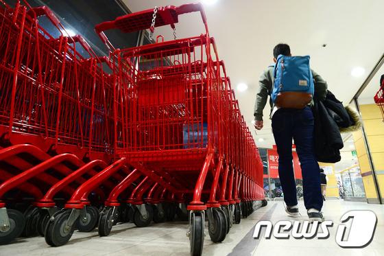 서울의 한 대형마트 모습.  /뉴스1 © News1 임세영 기자