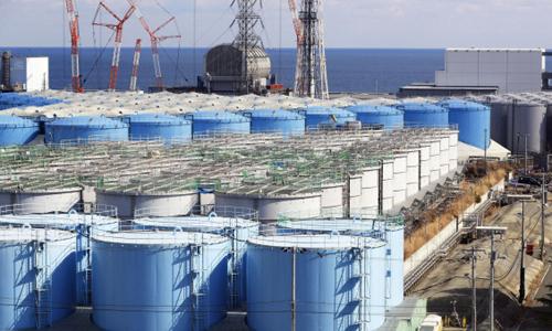 후쿠시마 원전터의 오염수. (사진=연합뉴스)