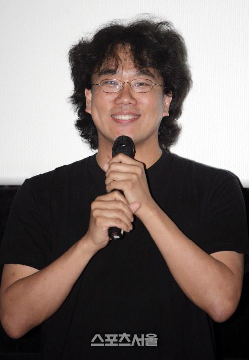 2006년 제 5회 미쟝셴영화제에 심사위원으로 참석한 봉준호 감독. 스포츠서울DB