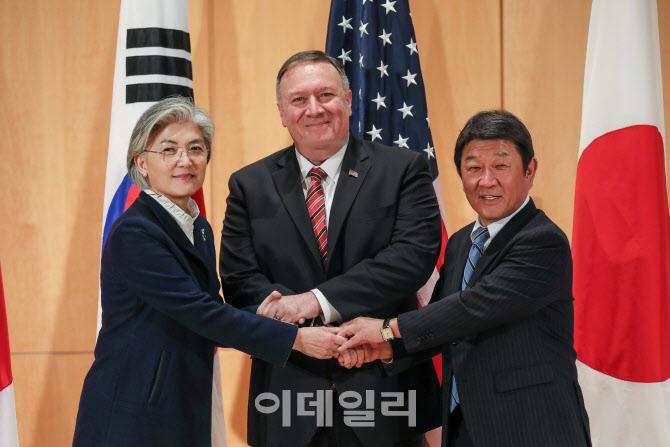 독일 뮌헨서 한·미·일 외교장관 회담, 북핵 공조 방안 논의