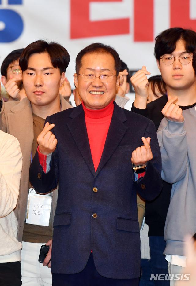 공천결정 이틀전..홍준표