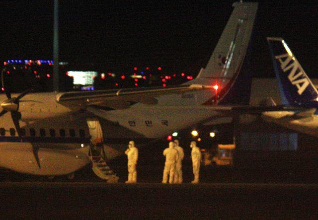 [속보] 일본 크루즈선 귀국자 7명 태운 대통령 전용기 김포공항 도착 | 인스티즈