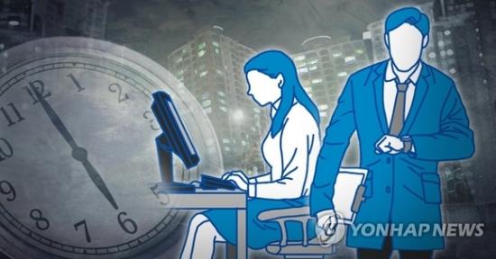 주52시간제도의 실효성을 두고 직장인들 사이에서 논란이 이어지고 있다./사진=연합뉴스