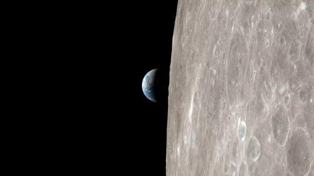 아폴로 13호의 지구 귀환 모습을 미 항공우주국(이하 NASA)가 4K 해상도 영상으로 재현해 공개했다. (사진=유튜브 캡쳐)