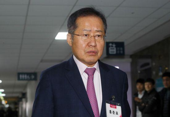 홍준표 전 자유한국당 대표. 연합뉴스