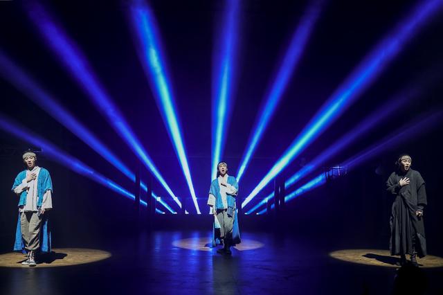 [서울=뉴시스] 뮤지컬 '스웨그에이지: 외쳐, 조선!'의 스페셜 공연 '외쳐, 잔칫날!'. (사진 = PL엔터테인먼트 제공) 2020.02.26. realpaper7@newsis.com