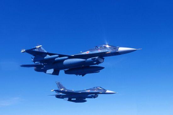 F-2 전투기의 모습[이미지출처=일본 방위성 홈페이지/www.mod.go.jp]