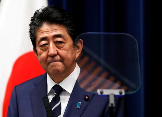 아베 신조 일본 총리. /사진=로이터