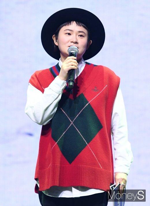 개그우먼 김신영이 장애인주차구역 주차 의혹에 대해 해명했다. /사진=장동규 기자