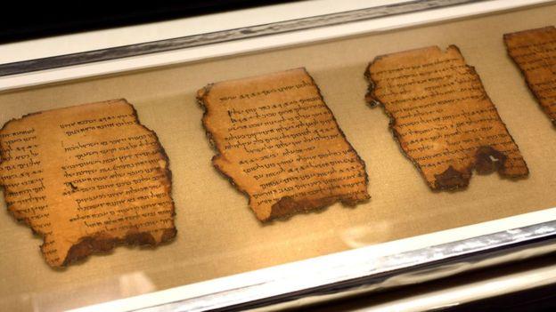 팔레스타인 예루살렘에 있는 이스라엘 유물 당국의 사해 문서 보존실에 대부분이 소장돼 있다.AFP 자료사진