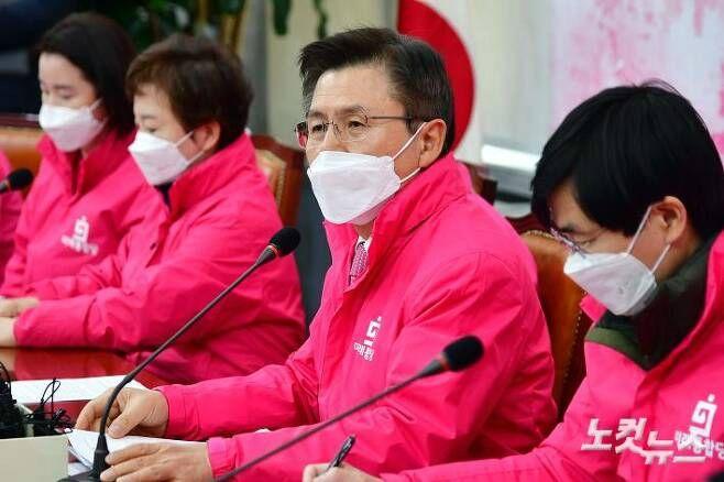 미래통합당 황교안 대표(사진=윤창원 기자/자료사진)