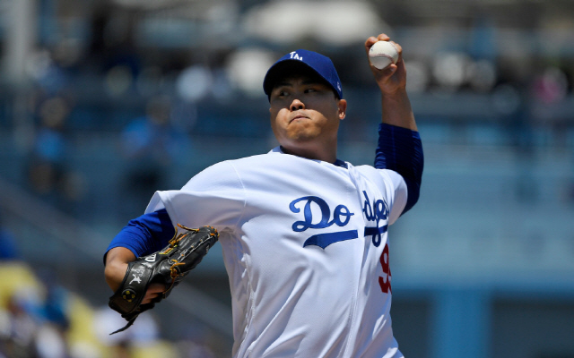 류현진은 지난해 LA 다저스에서 2.32의 평균자책점을 올리며 이 부분 타이틀을 차지했다. AP연합뉴스