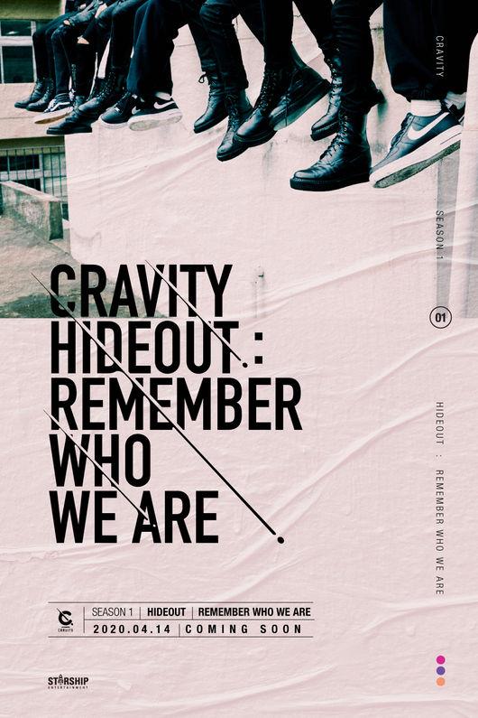 14일(화), 크래비티 데뷔 앨범 'CRAVITY SEASON1. [HIDEOUT:REMEMBERWHOWEARE] ' 발매 | 인스티즈