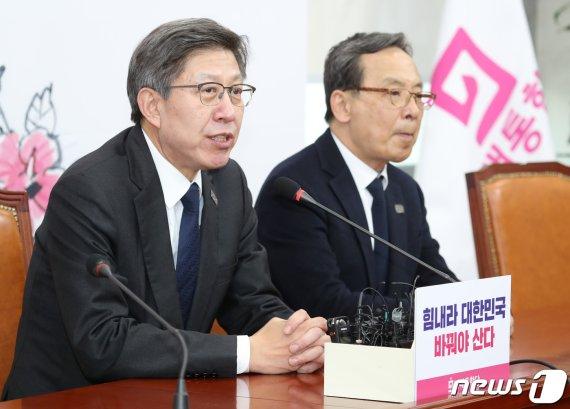 김종인, 통합당 총괄 선대위원장 역할 맡아..