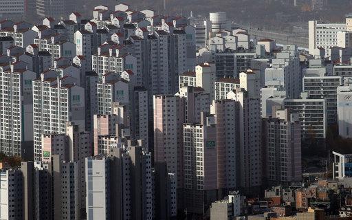 남산에서 바라본 서울 아파트 단지 모습. 연합뉴스