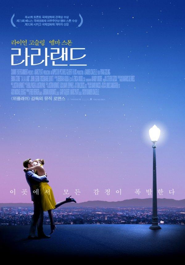 '라라랜드' 영화 홍보용 포스터.
