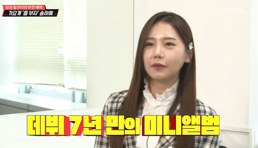 송하예 측 '사재기' 의혹에