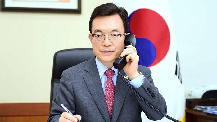 한미 등 7개국 외교차관 전화 협의..