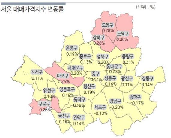 3월 서울 집값 상승률
