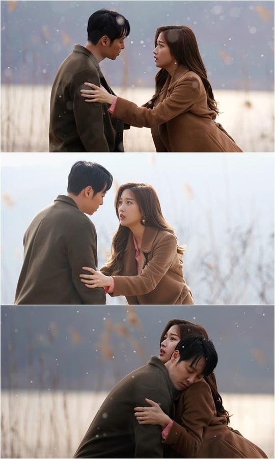 '그 남자의 기억법' 김동욱-문가영, 짠내 폭발하는 애틋 포옹[오늘TV]