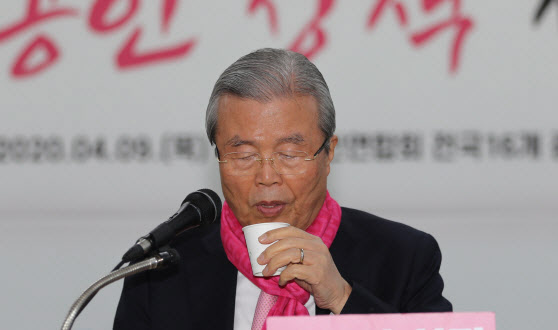김종인 미래통합당 총괄선대위원장.(사진=연합뉴스)