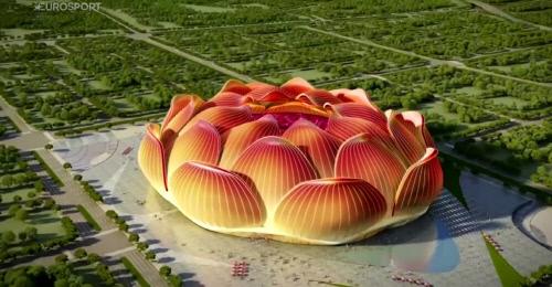 광저우 헝다가 건설중인 10만 규모 새 홈경기장. 캡처   유로스포츠 유튜브