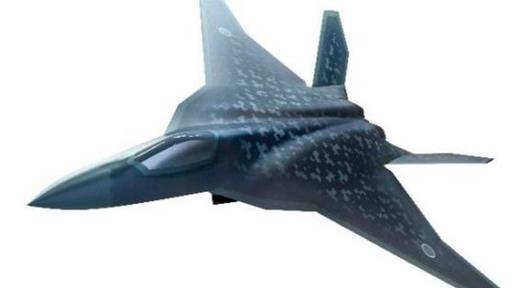 일본이 개발할 차기전투기 상상도. 높은 수준의 스텔스성능을 갖출 예정이다. 방위성 제공
