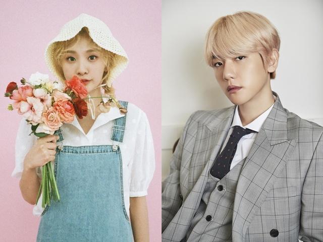 Bolbbalgan4, new album tracklist revealed..EXO Baekhyun curls down ...