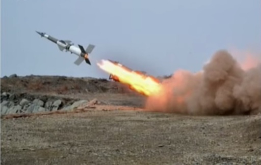 북한군 SA-3 지대공미사일이 발사되고 있다. 세계일보 자료사진