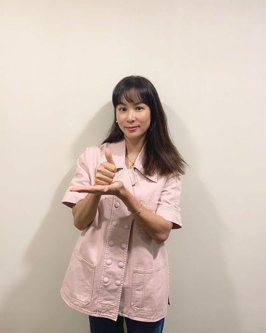 '장동건♥' 고소영, 덕분에 챌린지 참여