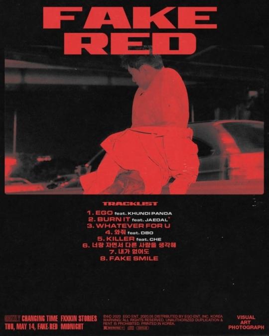 14일(목), 그리즐리(Grizzly) 미니 앨범 'Fake Red(페이크 레드)' 발매 | 인스티즈