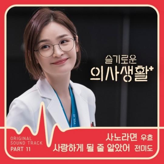 22일(금), 전미도 드라마 '슬기로운 의사생활' OST '사랑하게 될 줄 알았어' 발매   인스티즈