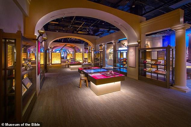 미국 워싱턴DC에 있는 성경박물관의 내부 모습.(사진=미국 성경박물관)