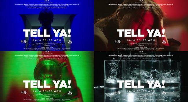 28일(목), 식케이(Sik-K) 싱글 앨범 'TELL YA!' 발매 | 인스티즈