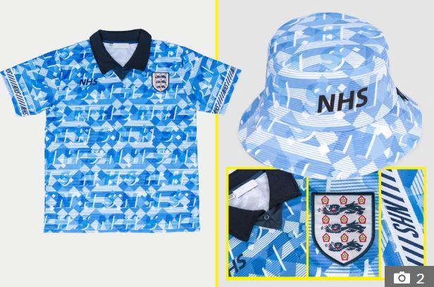 英유니폼 업체, 잉글랜드 '1990 월드컵' 한정판 제작..코로나 모금 위해[텐 토토|바둑이손기술]
