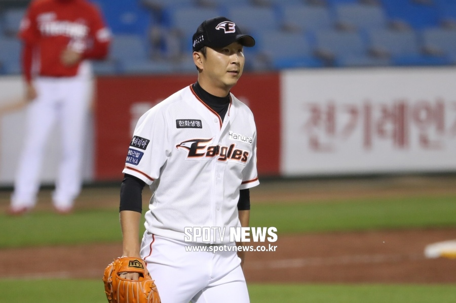 [SPO 인천] '15일간 1경기' 한화 마무리 정우람의 '개점휴업'[샤크 토토|일번지 토토]