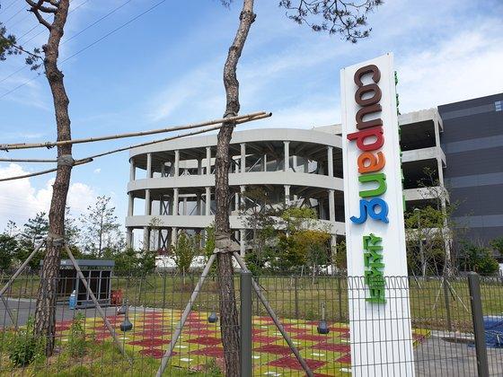 확진자가 나온 부천 쿠팡 물류센터는 지난달 25일부터 잠정 폐쇄에 들어갔다. 심석용 기자