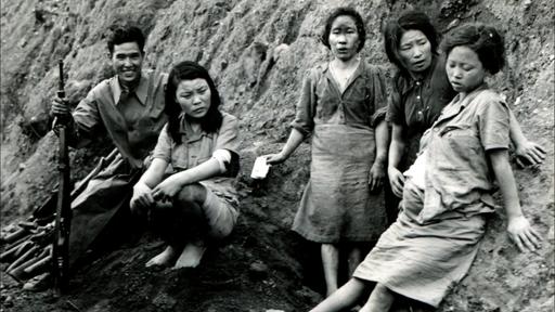 '만삭의 위안부'로 알려진 사진 속 주인공 박영심 할머니는 중국군에 구출됐으나 곧 연합군 포로로 신분이 바뀌었다.