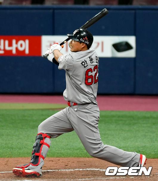 '재활 끝' 한동민, 첫 2군경기 출장..2루타 [오!쎈 퓨처스][메시? 토토 kb 게임]