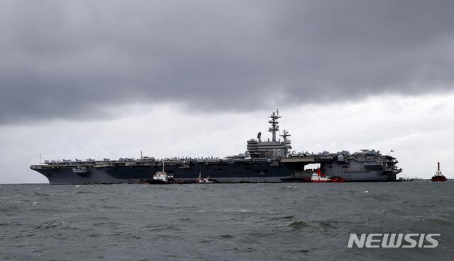美 2개 핵함모전단, 남중국해서 군사훈련..中에 무력과시[ID 토토|이스포츠 토토]