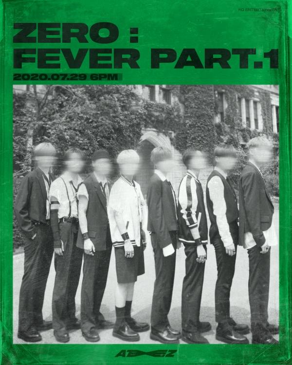 29일(수), 에이티즈(ATEEZ) 새 앨범 '제로 : 피버 파트1(ZERO : FEVER PART.1) (타이틀 곡: 인셉션)' 발매 | 인스티즈
