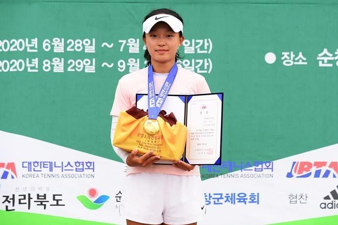 조선웅·문정, 전국주니어테니스선수권 18세부 단식 우승[비씨 토토|화랑 토토]