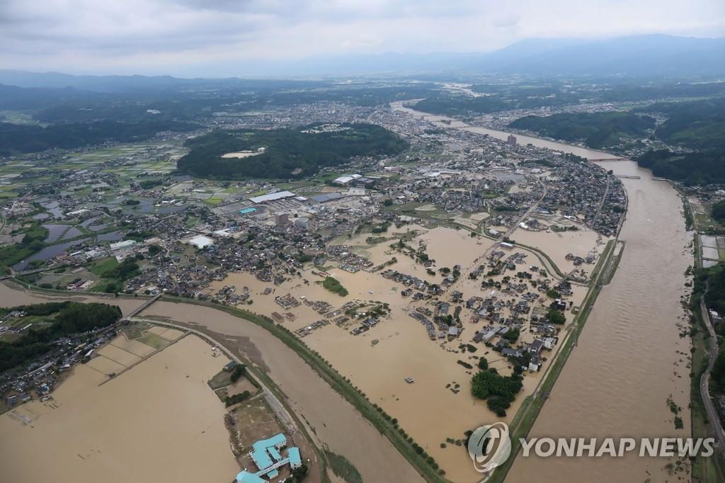 일본 구마모토 기록적 폭우 인명피해 48명으로 늘어(종합2보)[에어뱃? 토토|기차역 토토]