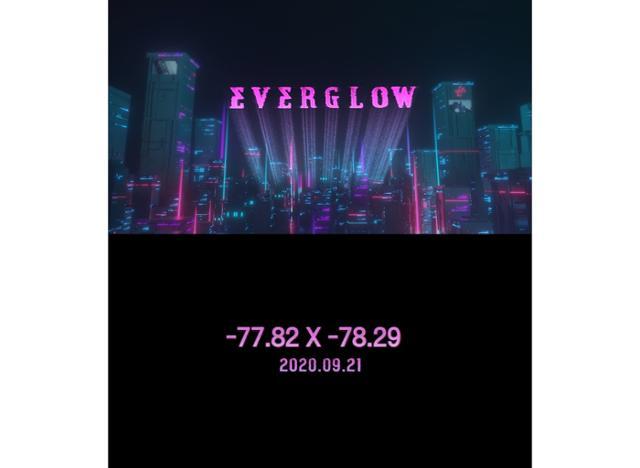 21일(월), 에버글로우(EVERGLOW) 미니 앨범 2집 '-77.82X-78.29 (타이틀 곡:라 디 다'(LA DI DA))' 발매 | 인스티즈