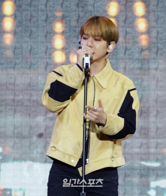EXO Baekhyun attends the 11th INK Concert online on the evening of October 10.INK Concert, a K-POP Hallyu Concert with NCT Jaemin and ITZY Chae-yeong, was attended by Shiny Tae-min, EXO Baekhyun, girlfriend, ITZY, The Boys, Astro, AB6IX, Wikimickey, Lee Eun-sang, and Ellis.   Beck Hyun attended as exo representative