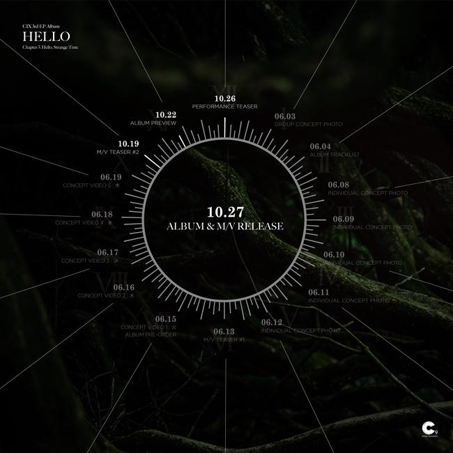 27일(화), CIX(씨아이엑스) 미니 앨범 3집 '안녕 낯선시간 (타이틀 곡:정글(Jungle))' 발매 | 인스티즈