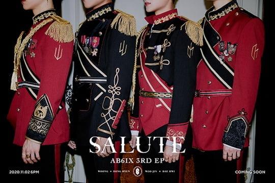 2일(월), AB6IX(에이비식스) 미니 앨범 3집 'SALUTE(살루트)' 발매 | 인스티즈