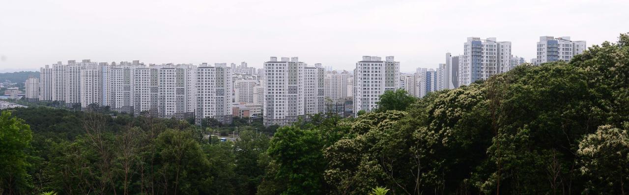 김포한강신도시 아파트 밀집지역의 모습 [헤럴드경제DB]